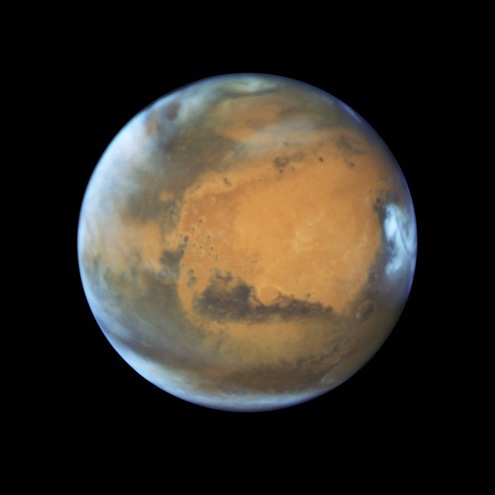 hubble view mars 2016 image