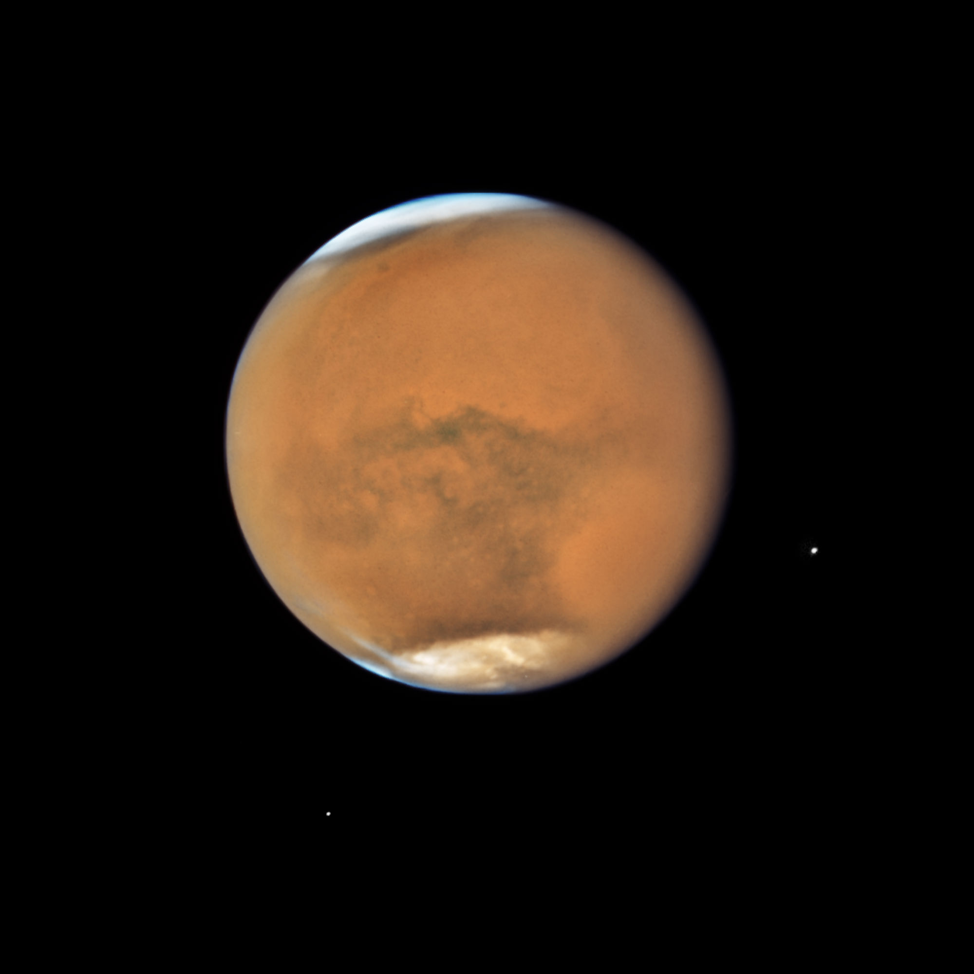 mars close approach image