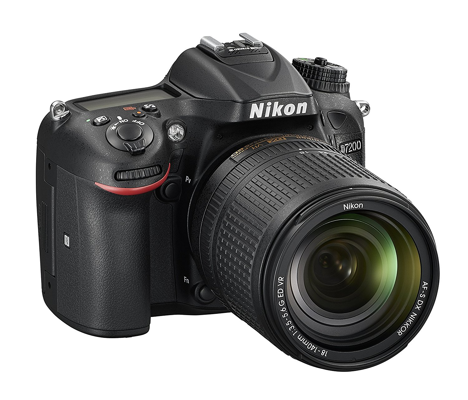 nikon d7200 with lens image