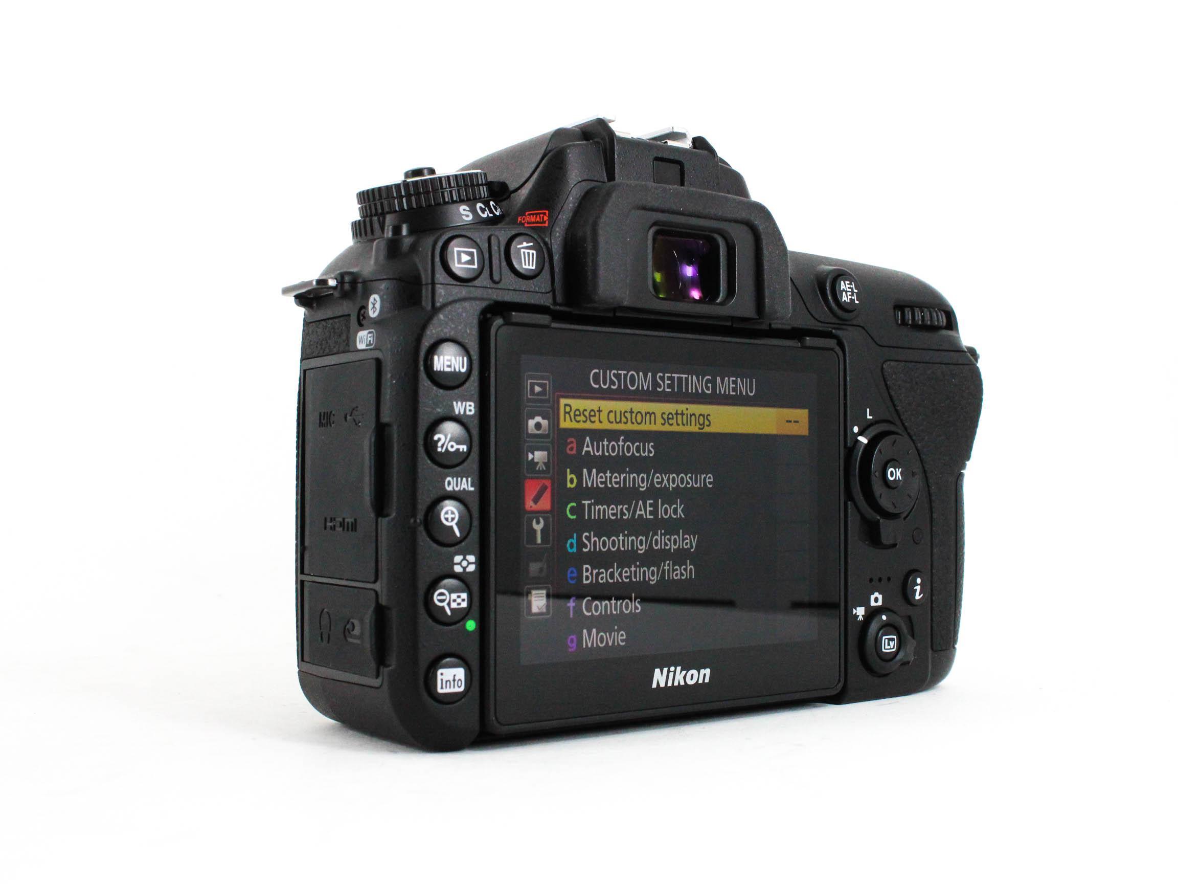 nikon d7500 back image