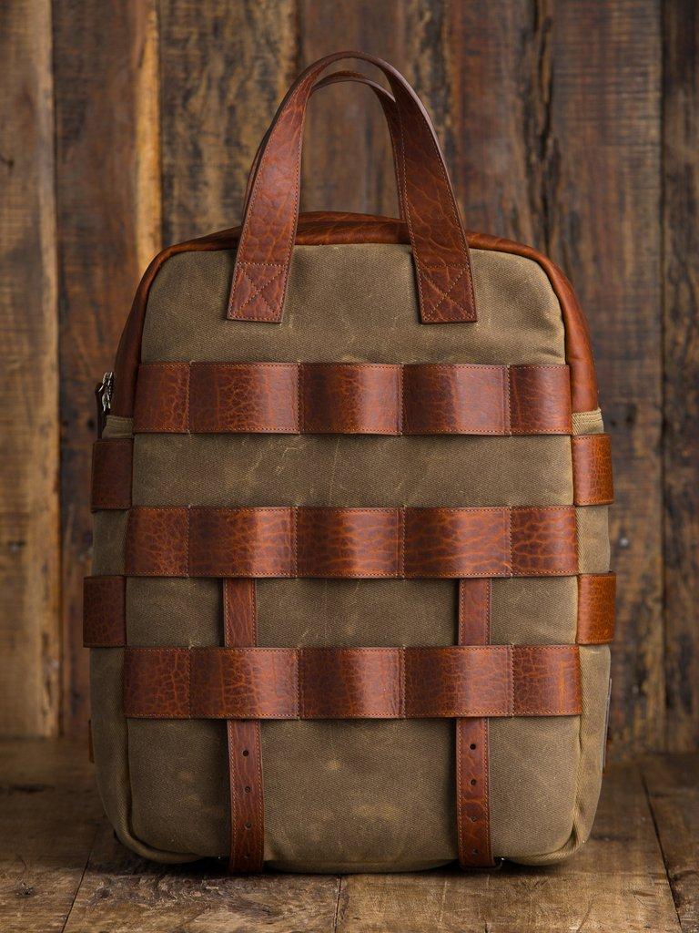 holdfast sightseer backpack front image