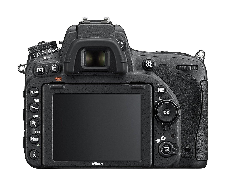 nikon d750 back image