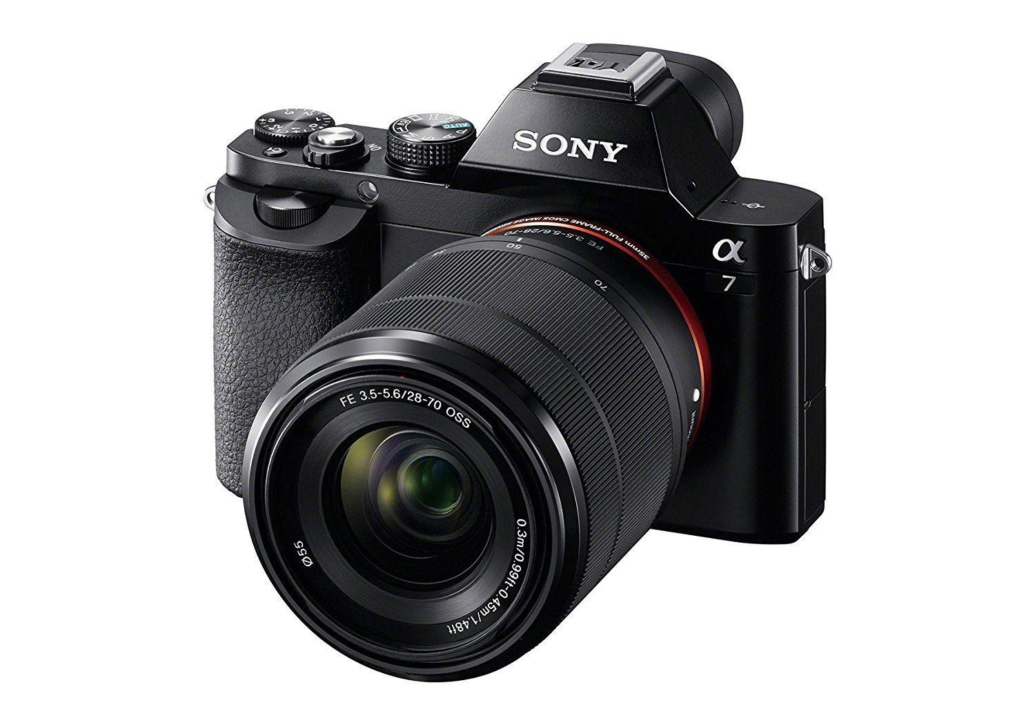 sony alpha a7 with lens image