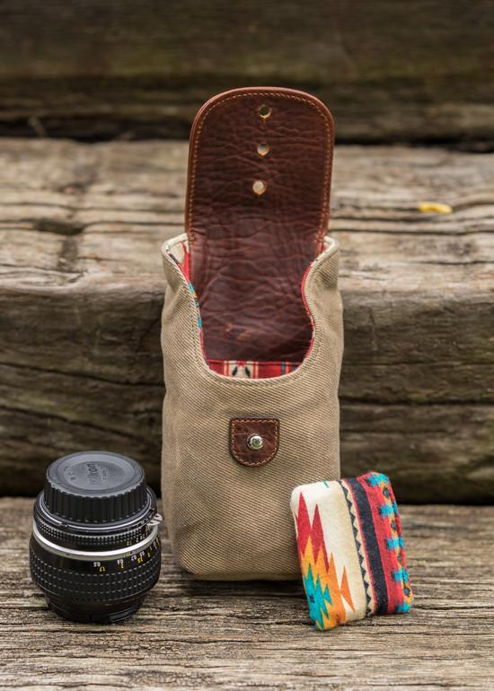 holdfast sightseer lens pouch small