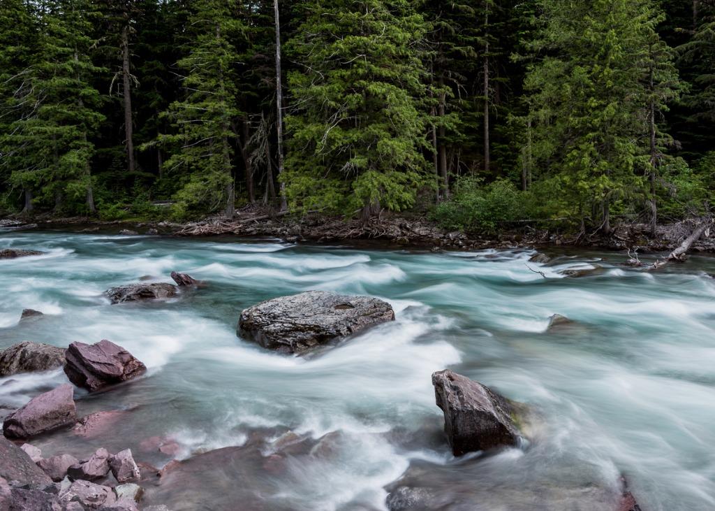 rapids below mcdonald falls picture id867011516 image