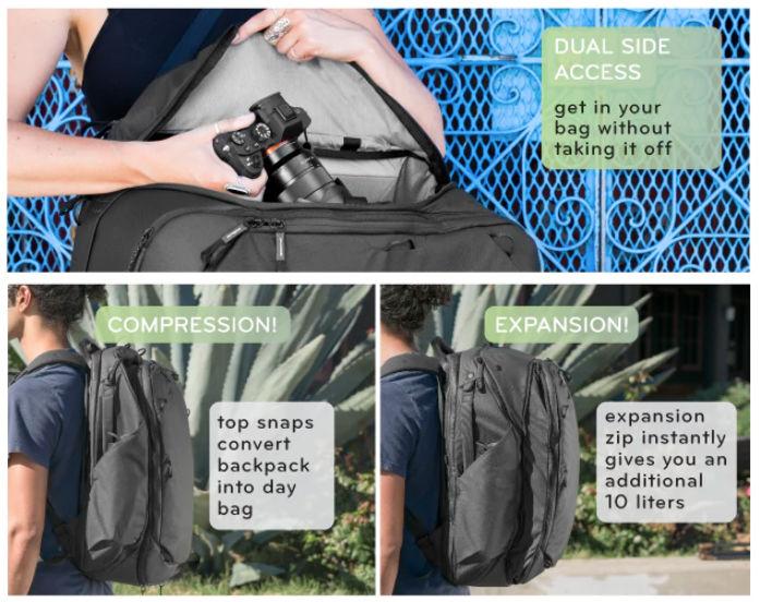 peak design bag review image