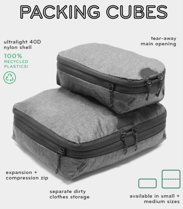 peak design packing cubes image