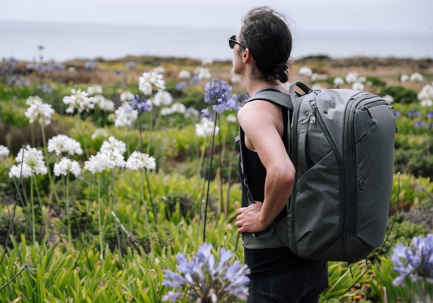 peak design travel backpack review image