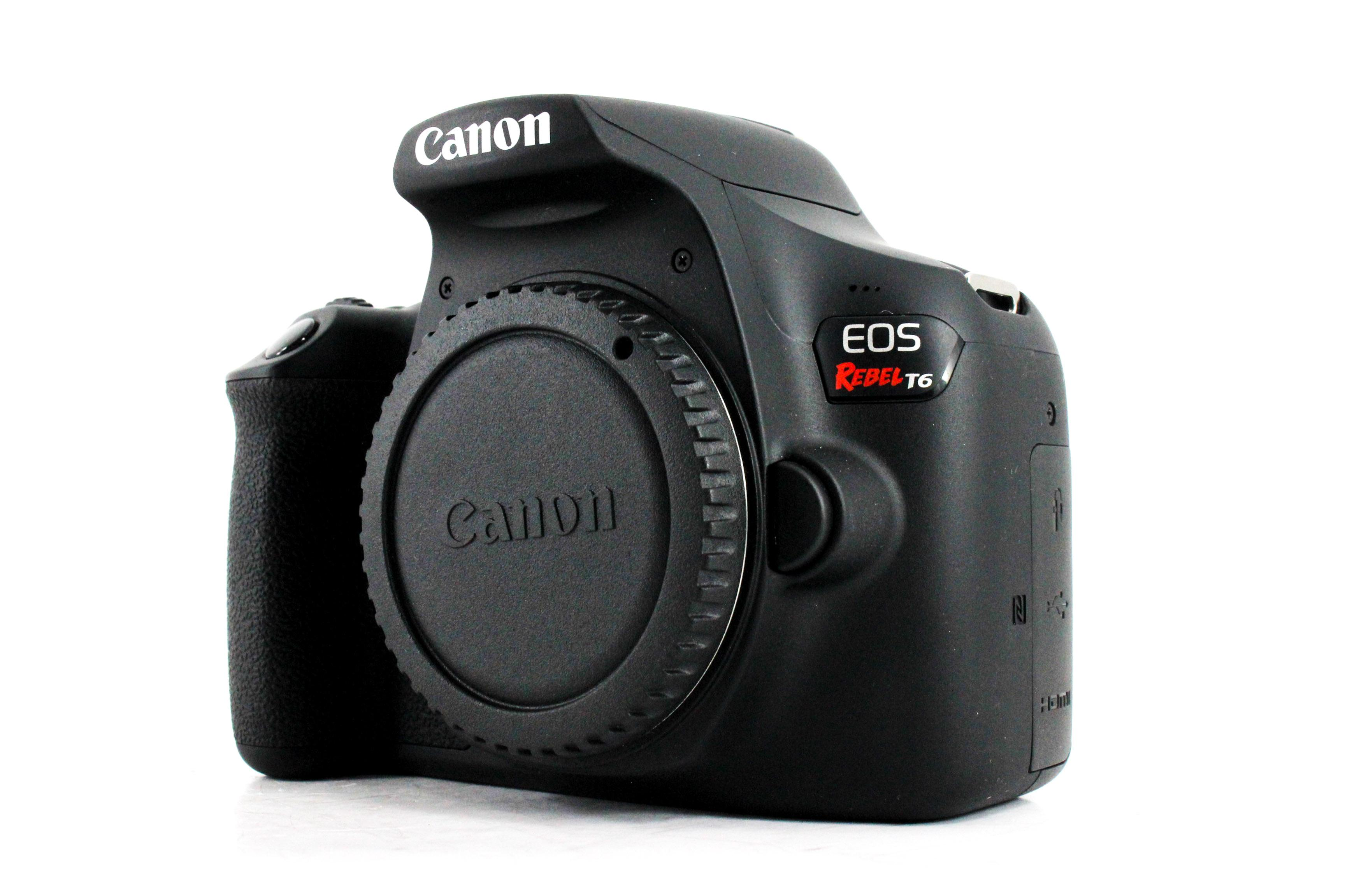 Why the Canon EOS Rebel T6 is a Great Beginner Camera