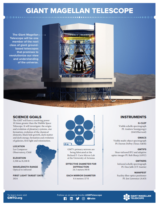 giant magellan telescope facts image