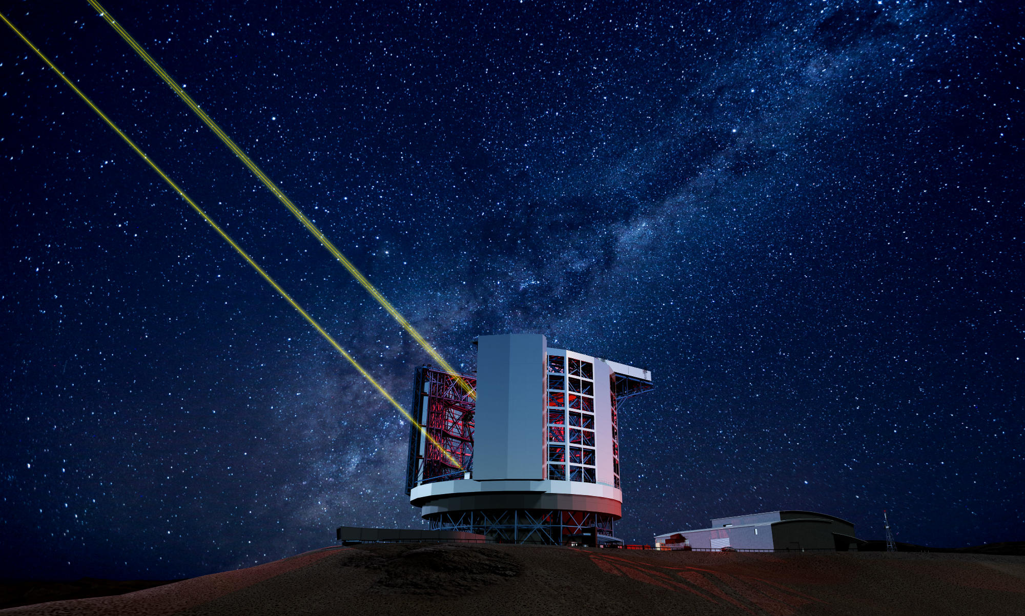 giant magellan telescope sharper than hubble image