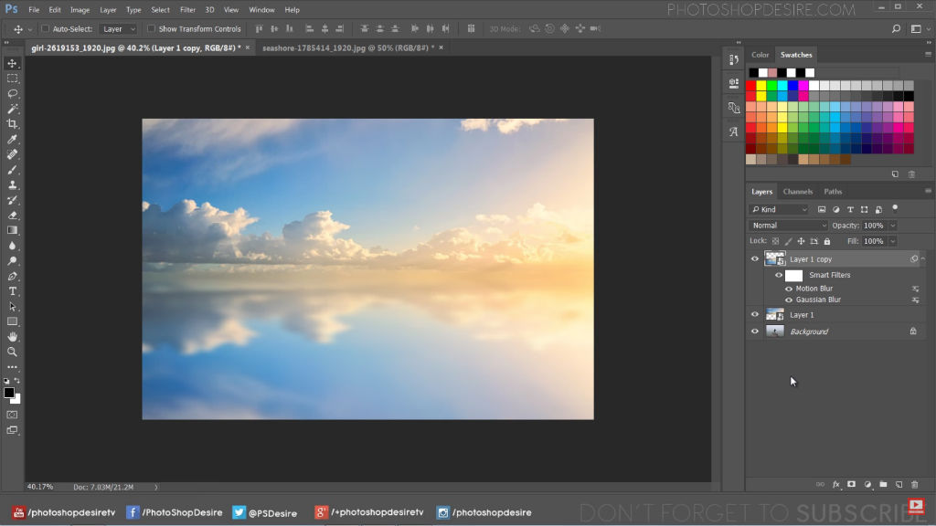 sky background for photoshop image