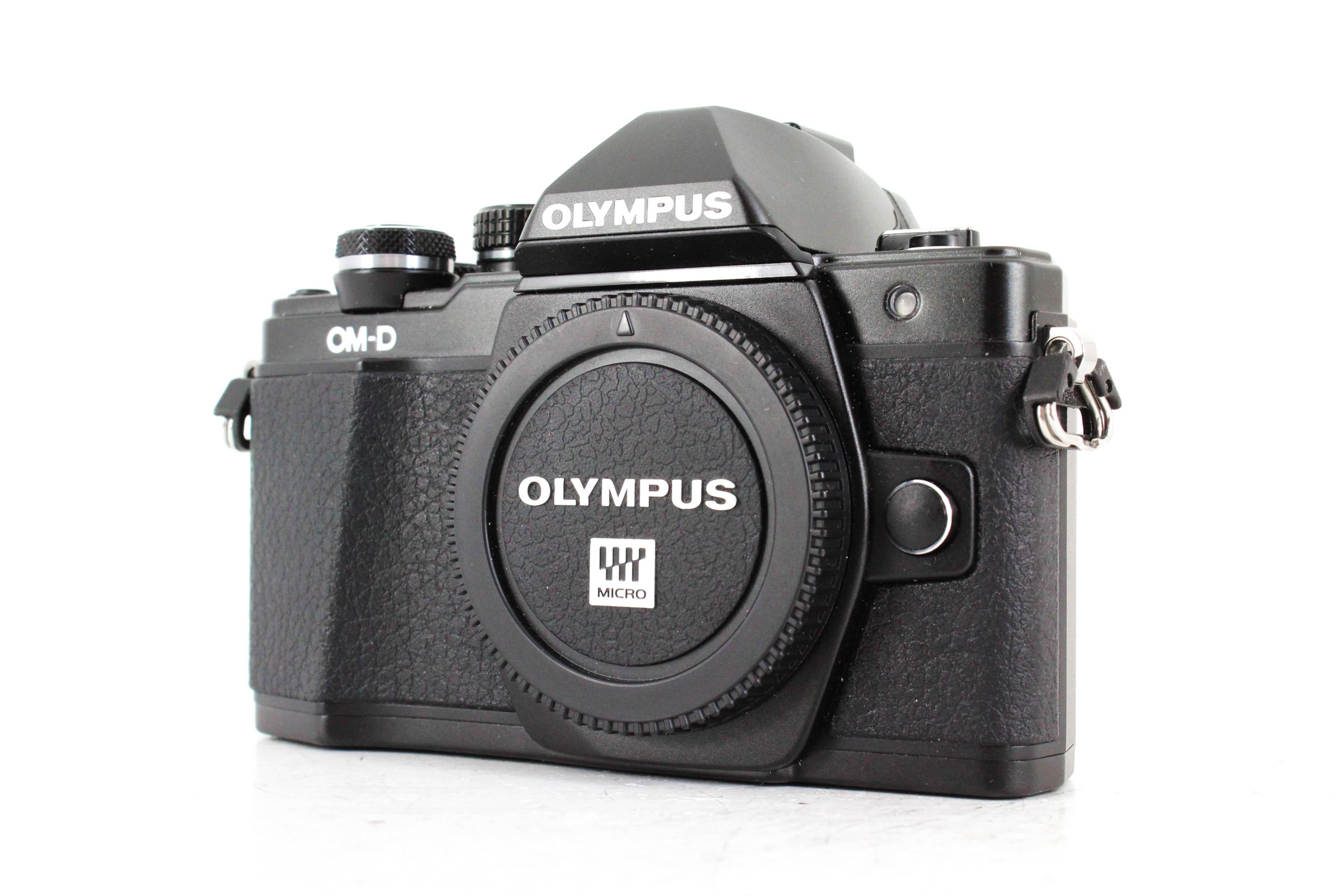 Olympus OM D E M10 II front image