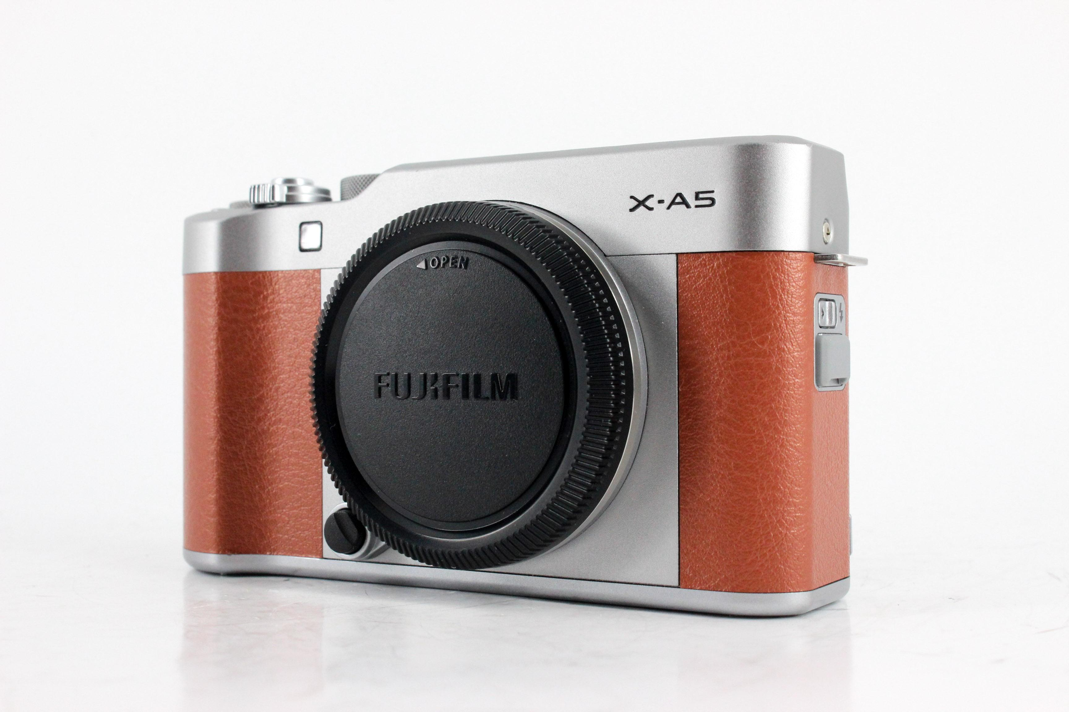 fujifilm x a5 front image