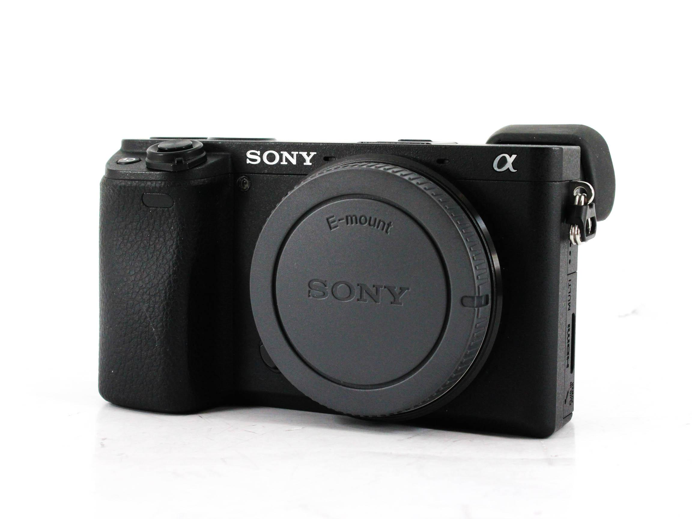 sony alpha a6300 front image