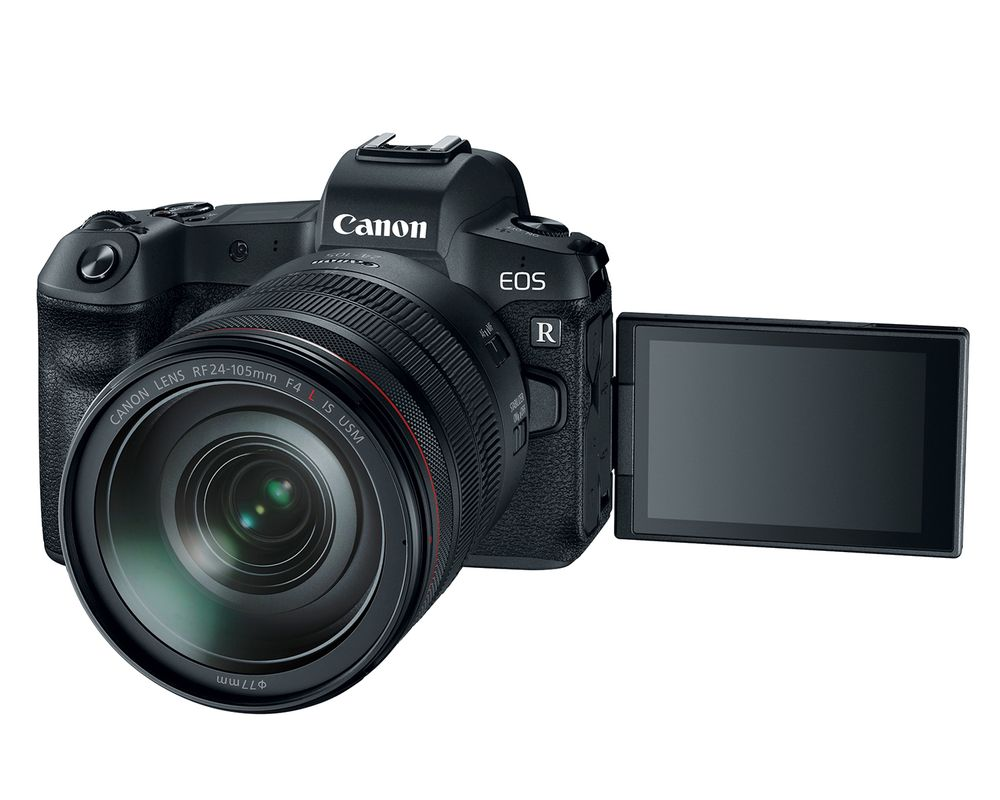 canon eos r front image