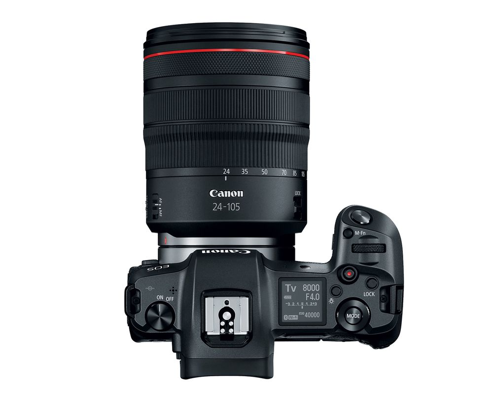 canon eos r with 24 105mm lens image