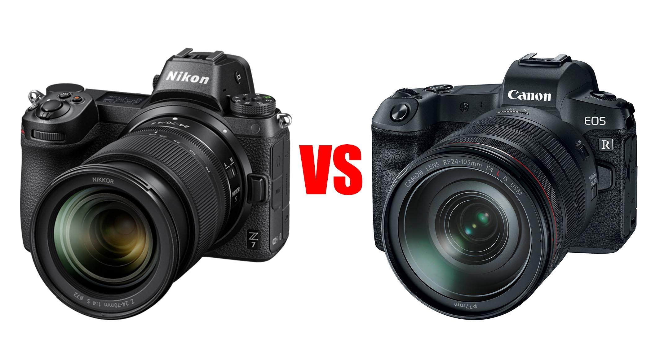 nikon z7 vs canon eos r image