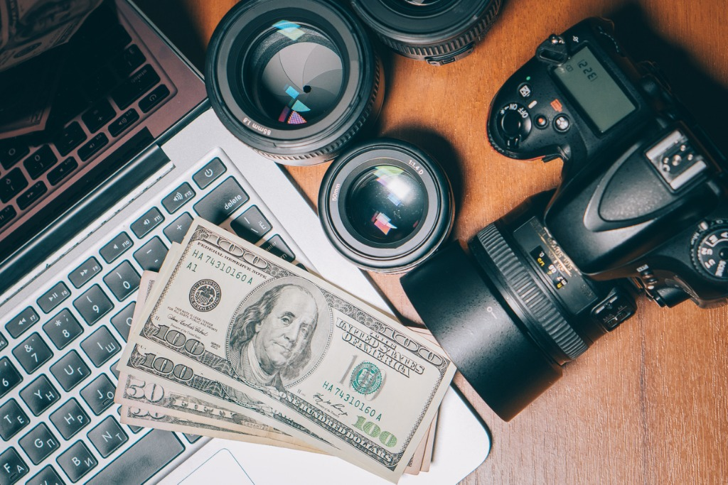 photographers work desk top view picture id902227646 image