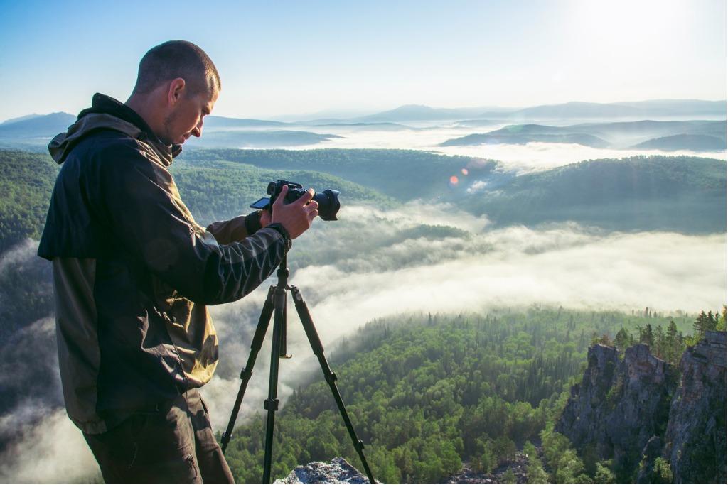 improving landscape photography image