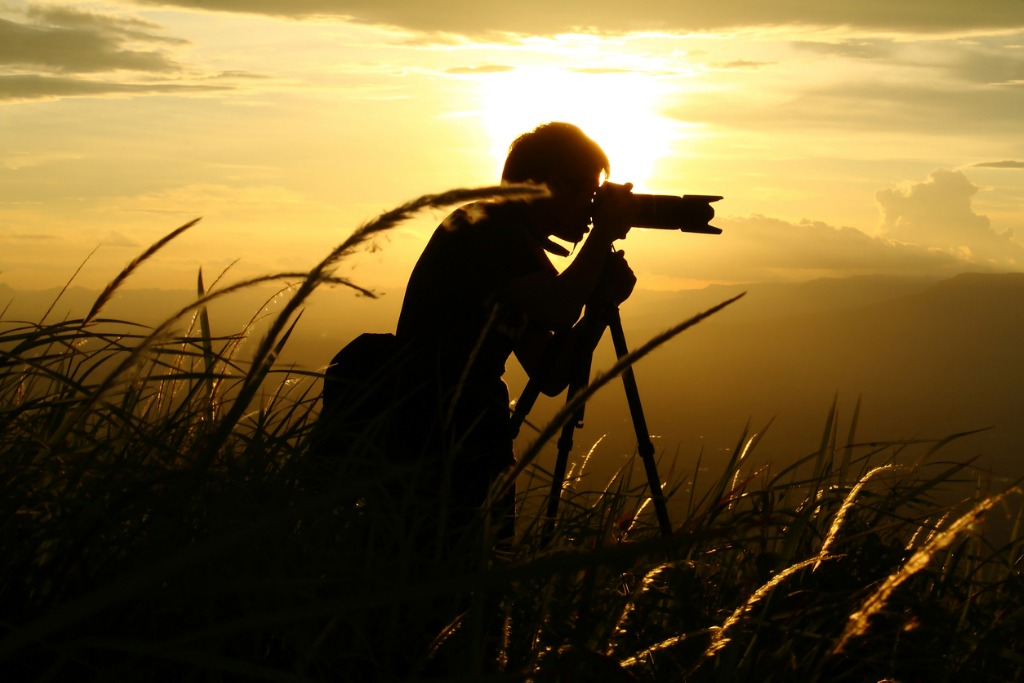 silhouette photographer picture id496797495 image