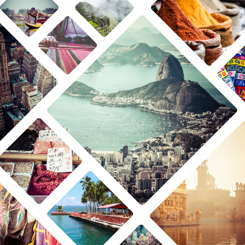 collage of travell images travel background picture id867353540 image
