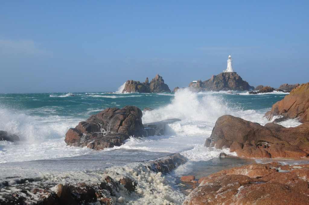 la corbiere lighthouse jersey picture id471389257 image