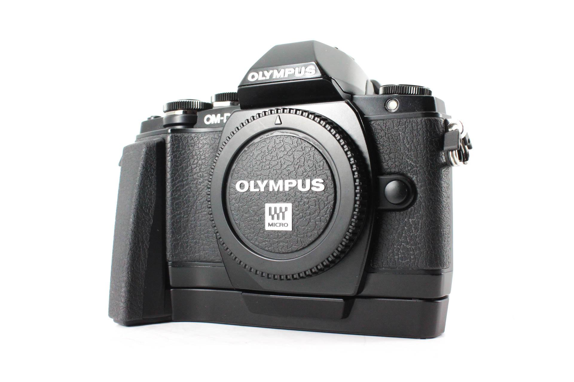olympus om d front image
