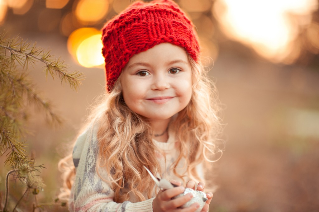 smiling kid girl outdoors picture id492985838 image