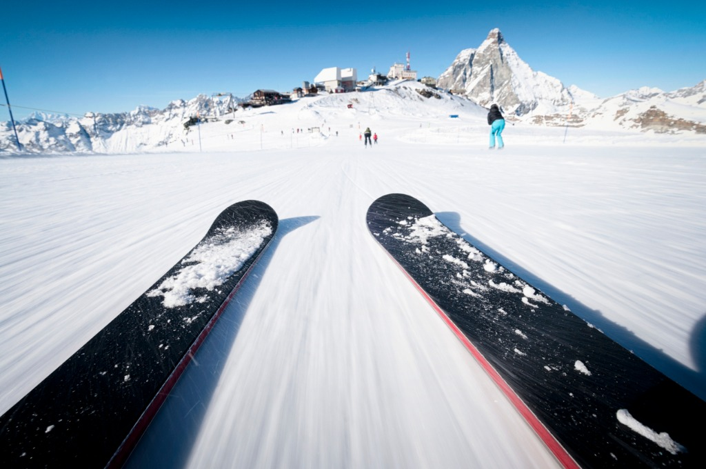 skiing at speed picture id165653161 image