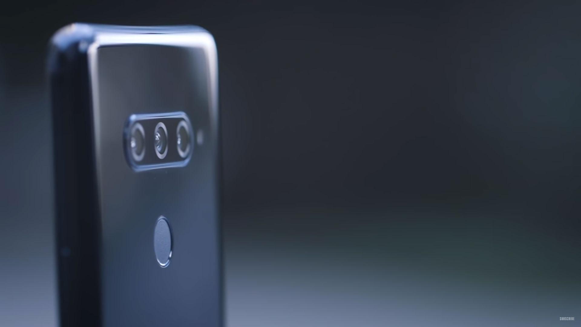 lg v40 smartphone image