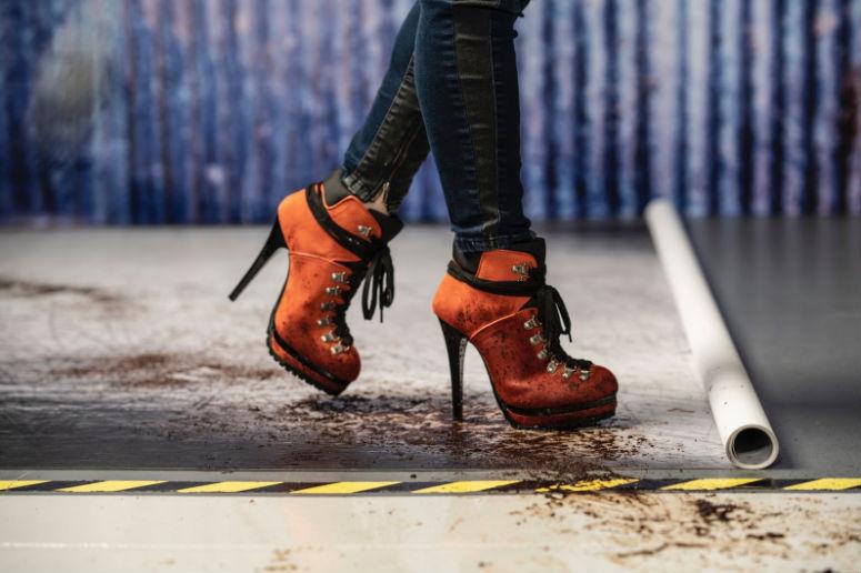 click props heels
