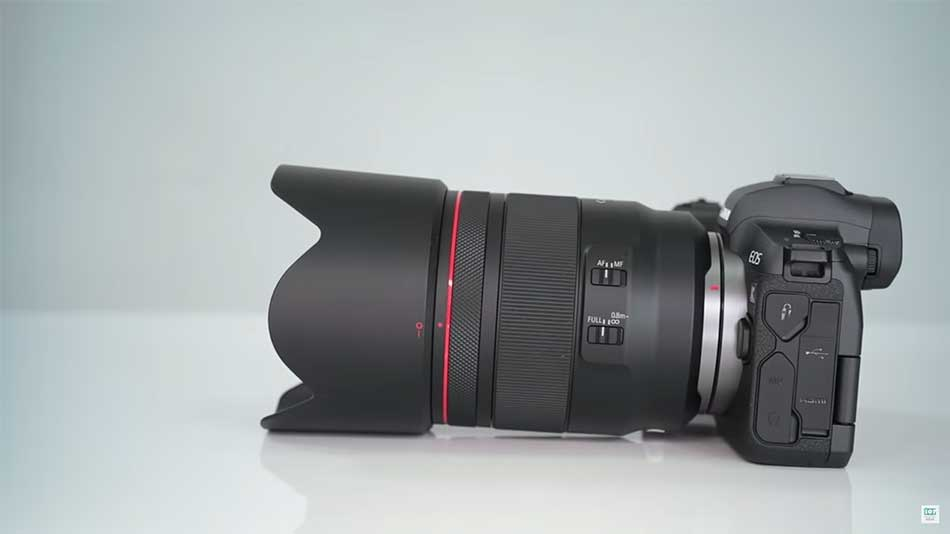 canon rf 50mm lens image