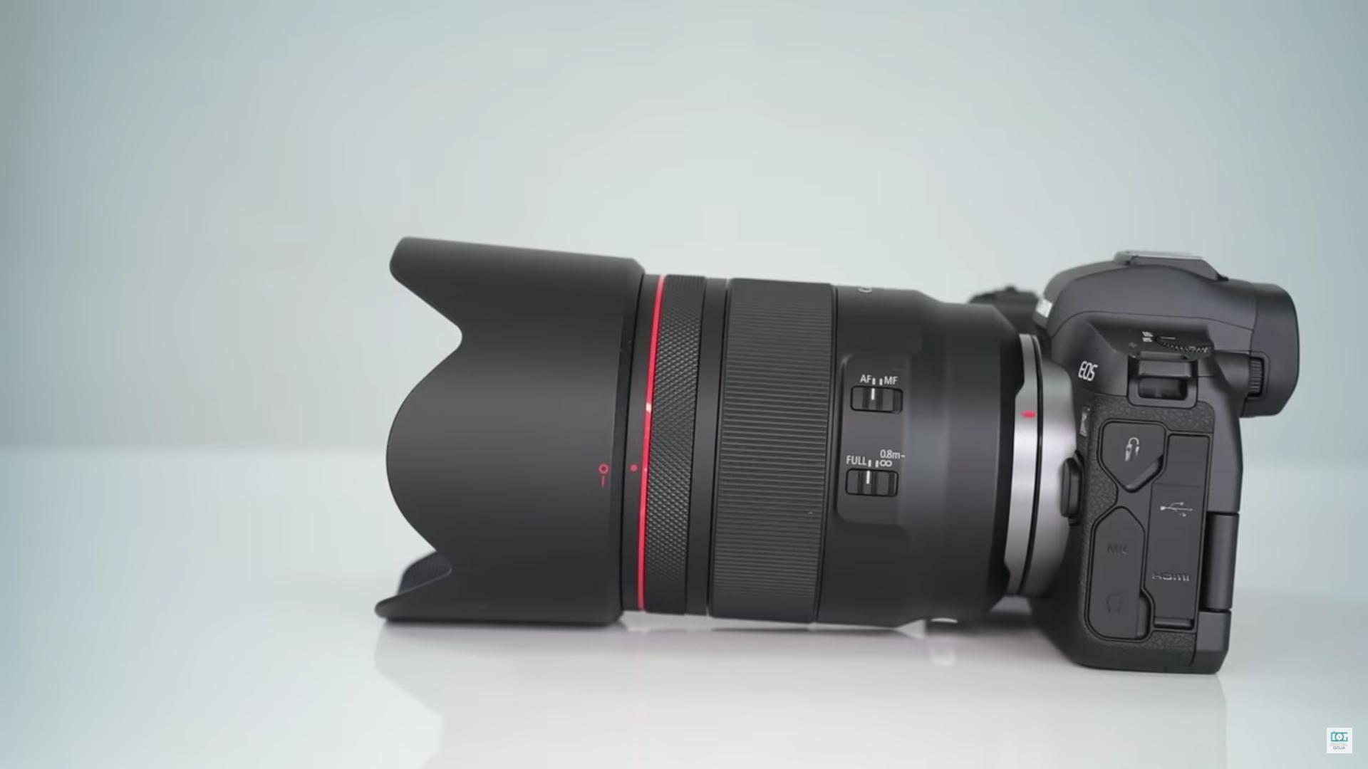 canon rf 50mm lens image