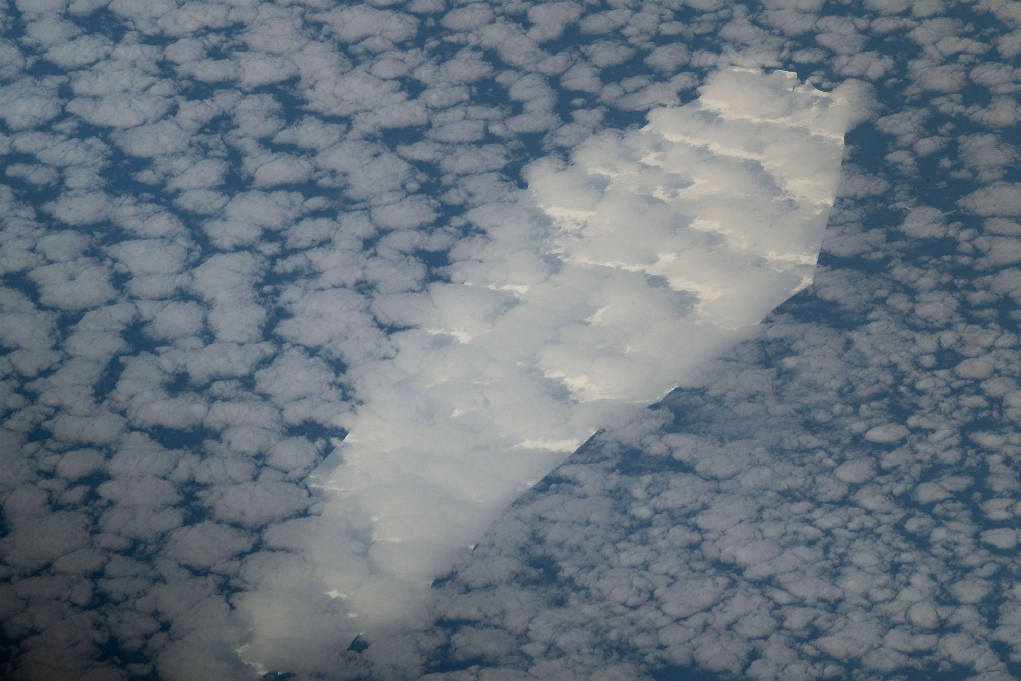 coffin shaped iceberg image