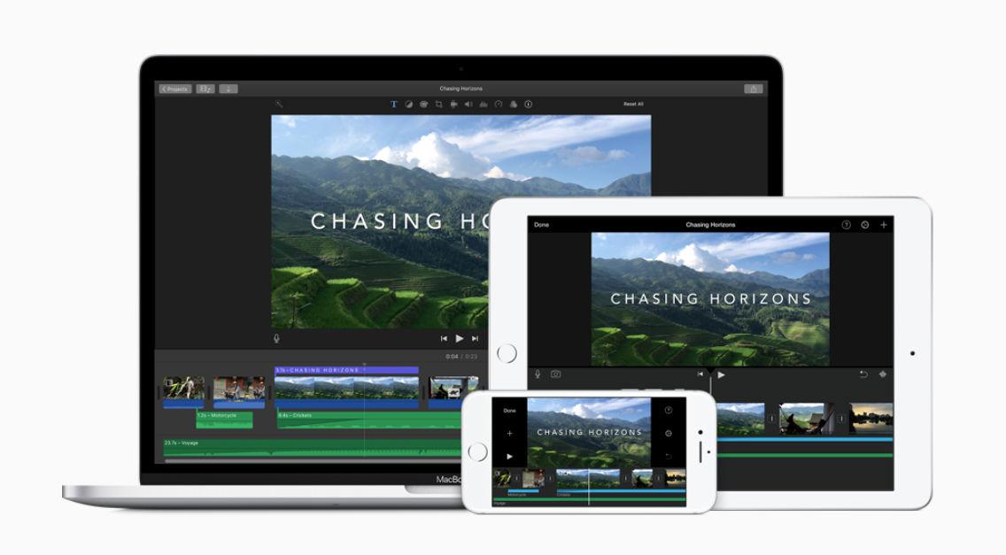 imovie video editor image