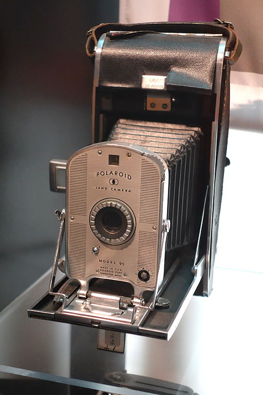 Polaroid Land Camera Model 95 MIT Museum DSC03766 image