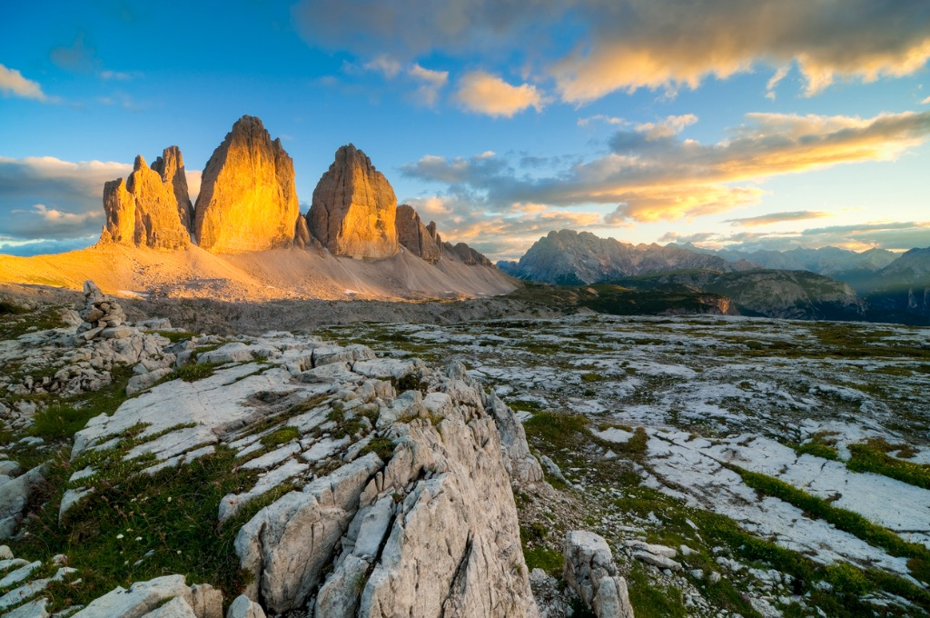 the gold of dolomites picture id182066677 image