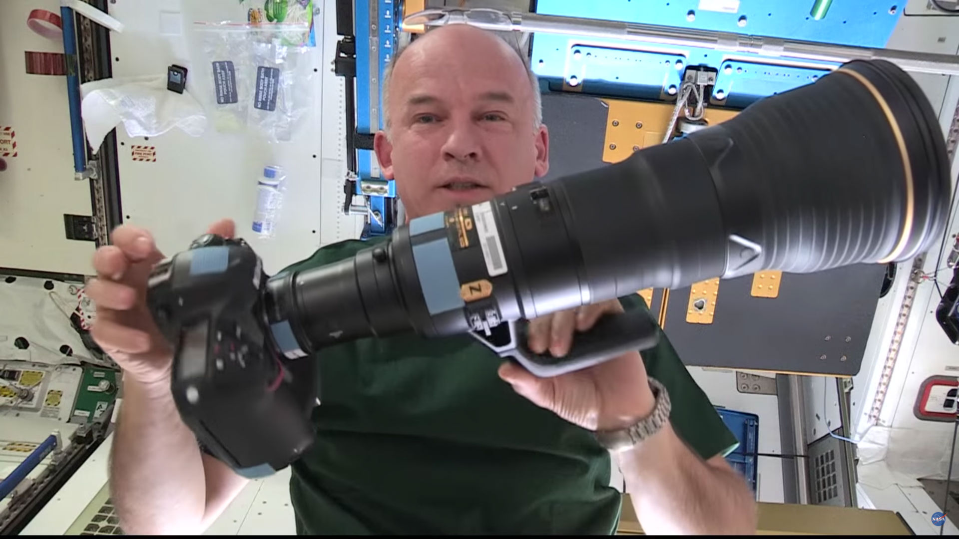 space station camera image