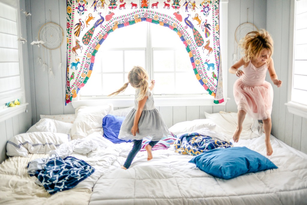 bed dance party picture id874633138