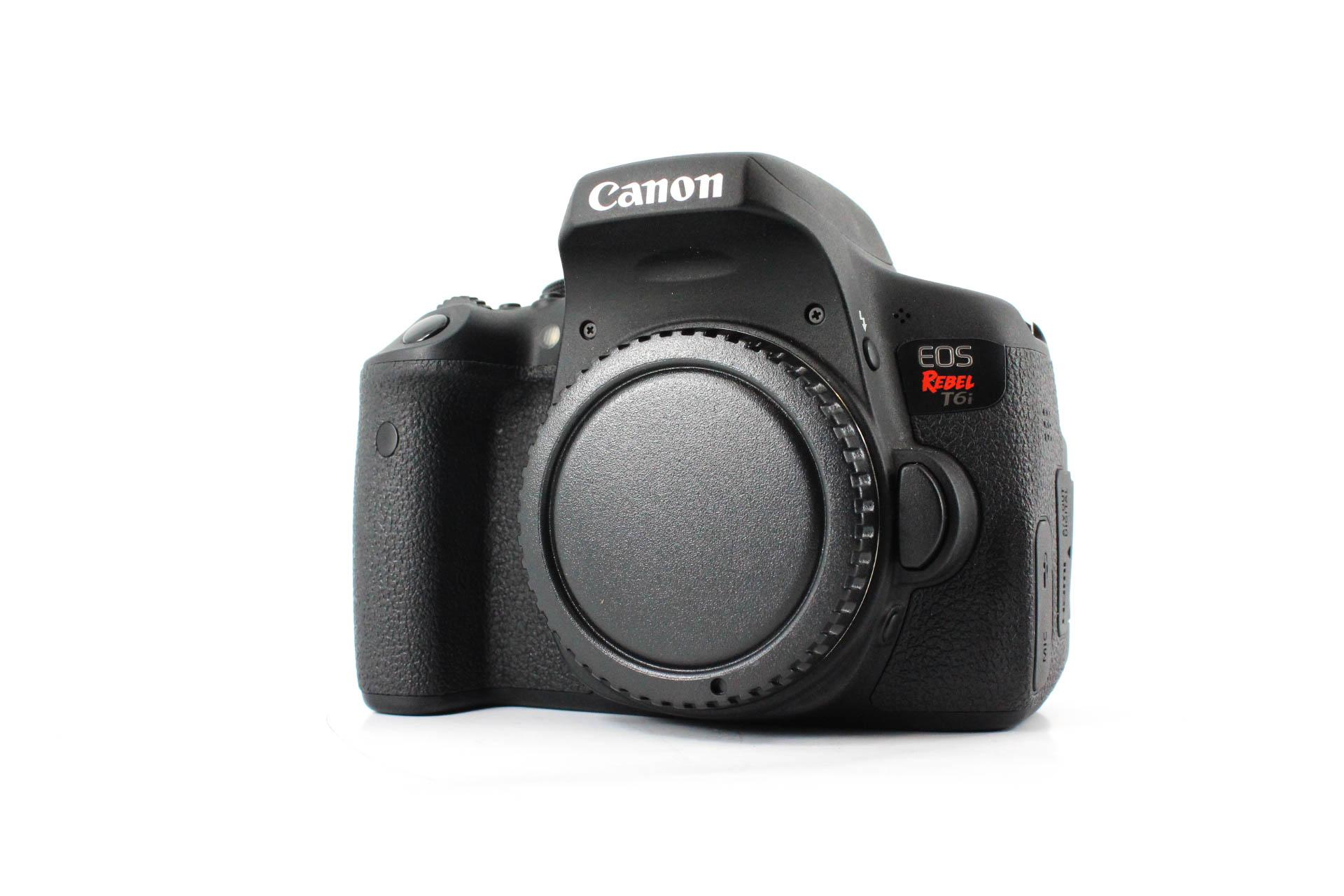canon t6i front image