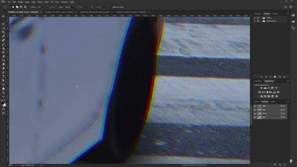 chromatic aberration example image