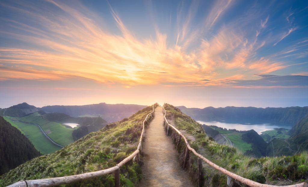 mountain landscape ponta delgada island azores picture id944812540 image