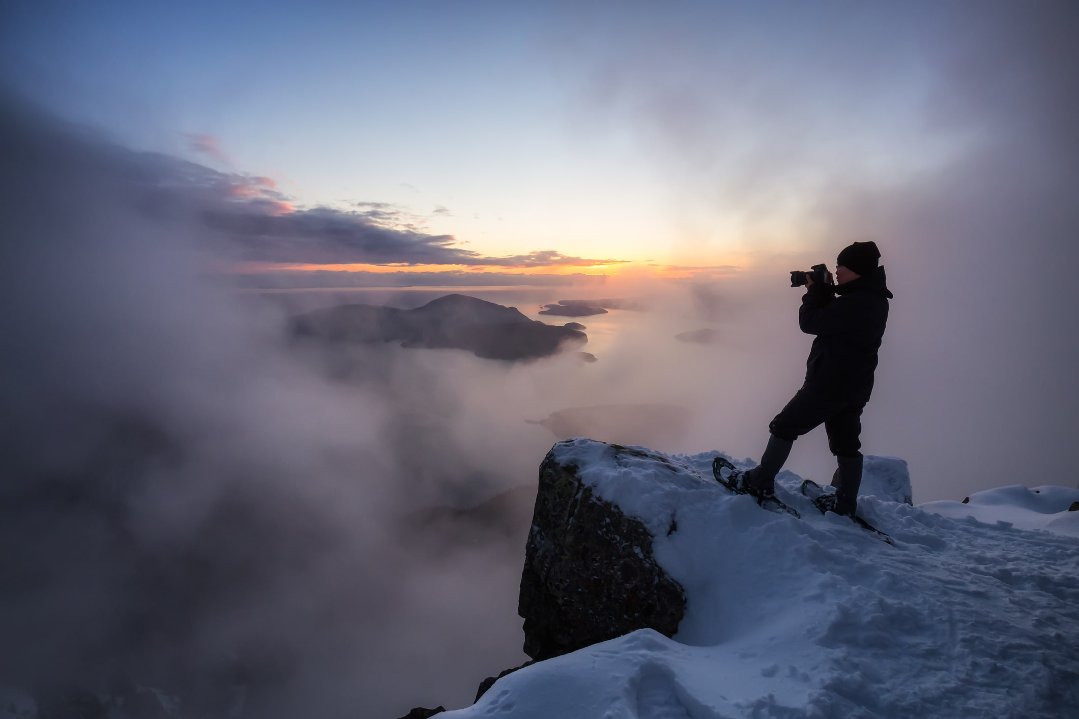 essentials of winter photography image