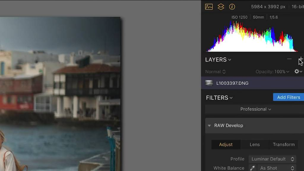 luminar layers image