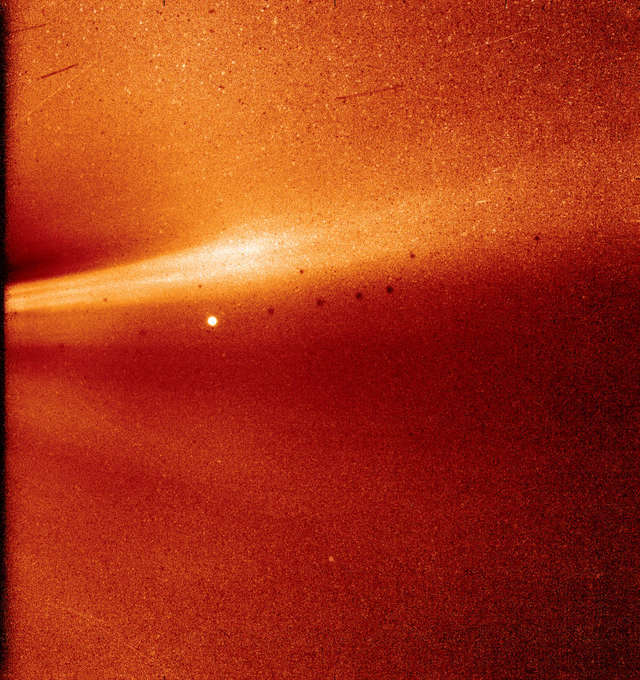 First photo from the suns corona image