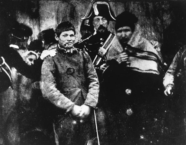 first example of photojournalism image