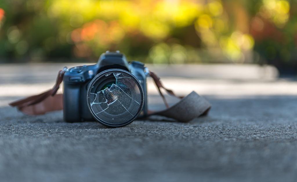 filter camera lens broken picture id891373436