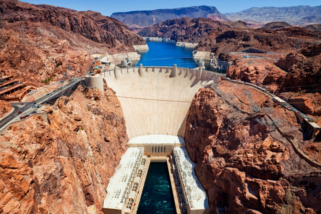hoover dam picture id174985229 image