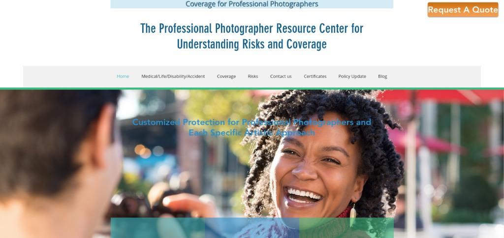 national photographers insurance image